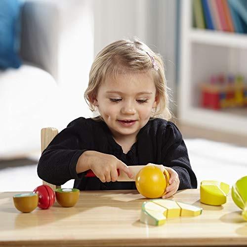 melissa y doug cortando el juego de frutas, alimentos de jue