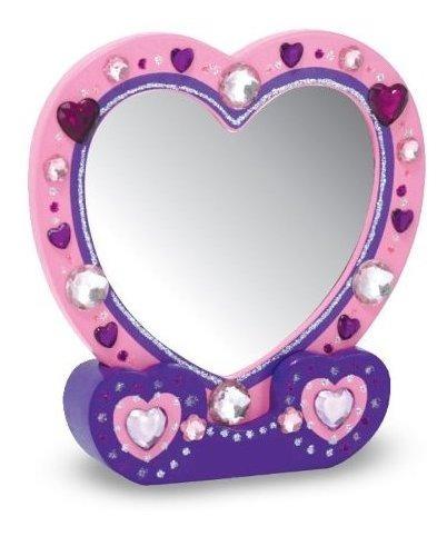 melissa y doug decorateyourown espejo de pared diseño de co