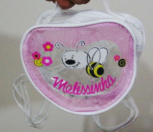 melissinha love bag - mochila