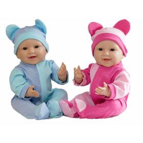 Mellizos Envío Gratis Bebote Real Recien Nacido Con Chupete