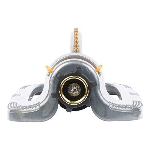 melnor xt metal turbo oscilante aspersor
