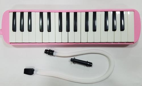 melodica estudiantil con 32 teclas nuevas con estuche y mang