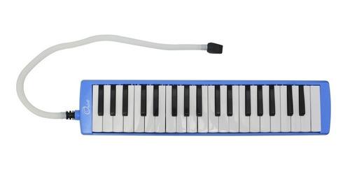 melodica orich 27 teclas azul rosado + estuche - l27k pk