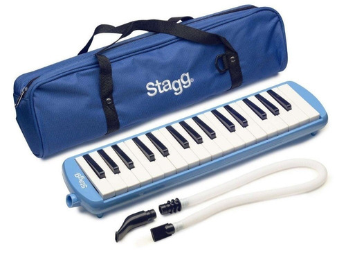 melodica pianica - 32 notas - stagg - incluye funda