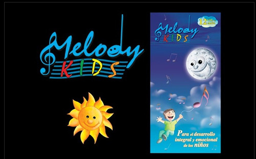 melody kids 12 cd´s de audio musical