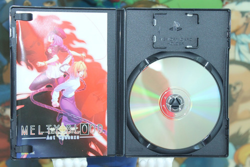 melty blood act cadenza playstation 2. completo. japones.