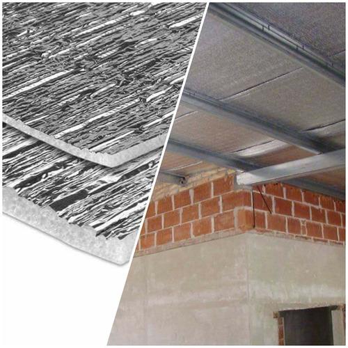 membrana aislante termico aluminizada techo espuma 10 mm