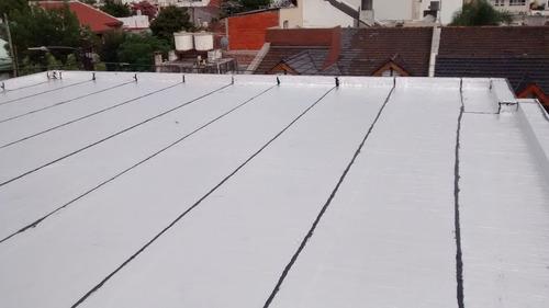 membrana asfaltica megaflex aluminio 4mm venta - colocacion