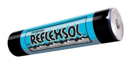 membrana asfaltica reflexsol alum flex 43kg 18 cuotas s/int