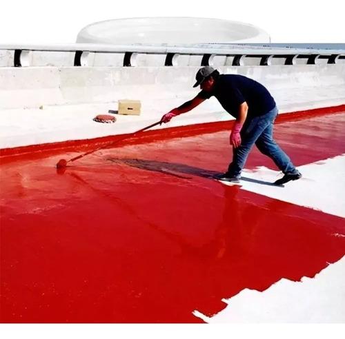 membrana cubre techo aislante colores 20 kg transitable blanca roja verde terraza transitable lozas mamposteria