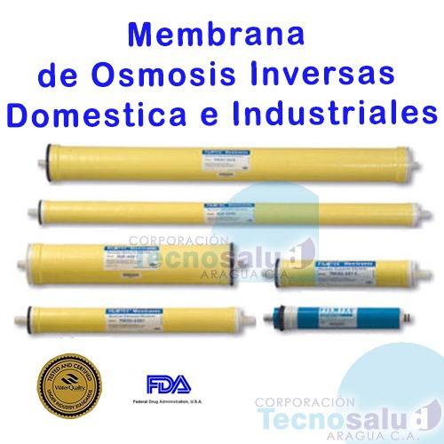 membrana de osmosis inversa industrial bw4040 marca hidrotek