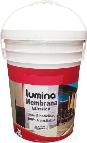 membrana elastica lumina oferta 20 lts blanco tienda univers