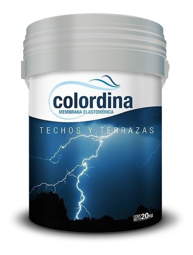 membrana elastomerica colordina x 20 kg. ogus