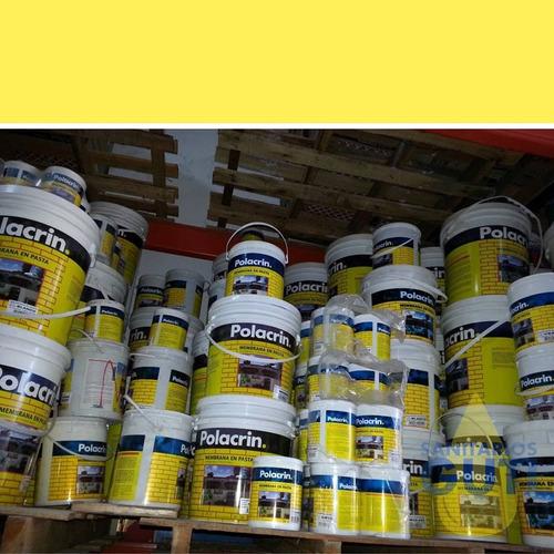 membrana en pasta polacrin 20 litros!!!