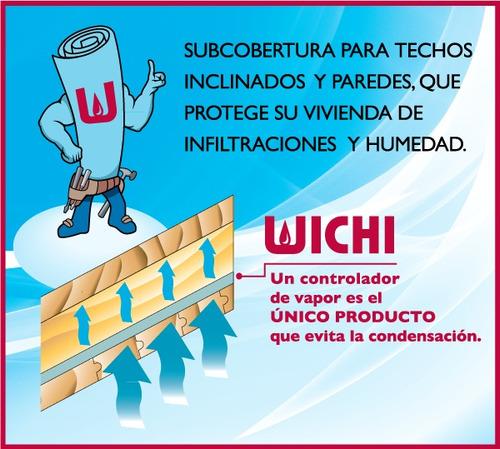 membrana hidrofuga wichi roofing x 30m2