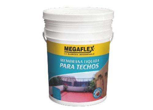 membrana liquida megaflex  x 20 kg techos caba flores