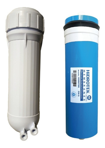 membrana  osmosis inversa ro 200g y carcasa ro filtro agua