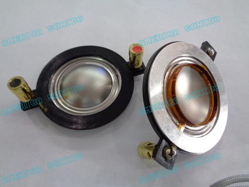 membrana para driver 34mm diametro de bobina 34mm