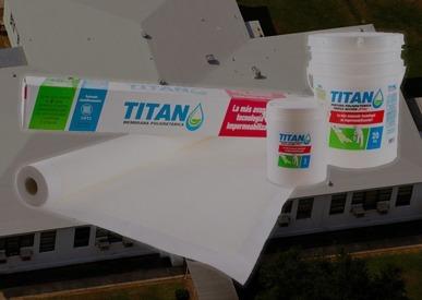 membrana poliuretánica 100% transitable 3 capas de pintura