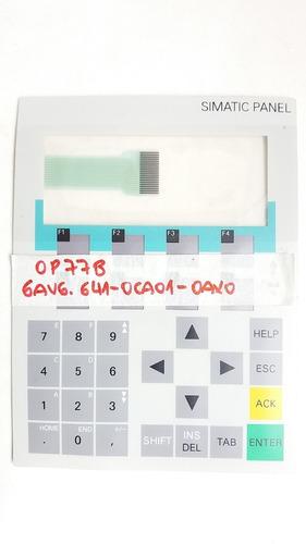 membrana siemens ihm 6av6 641-0ca01-0ax0 op77b keypad teclado op77 op 77