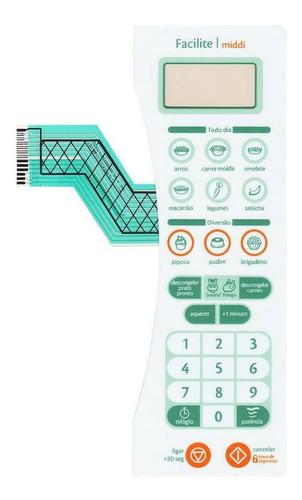 membrana teclado forno microondas consul cms30ab cms 30ab facilite middi