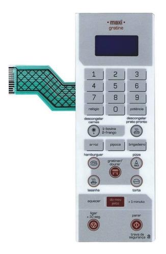 membrana teclado microondas brastemp bmg35ab maxi gratine