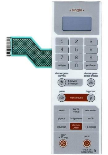 membrana teclado microondas brastemp bms25ab bms 25ab single