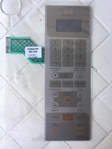 membrana teclado microondas brastemp bmx35ab