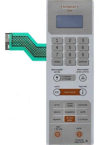 membrana teclado microondas brastemp bmx40ar king size inox