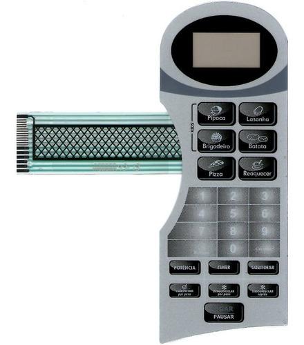 membrana teclado microondas britânia bm18l2 bm 18l2