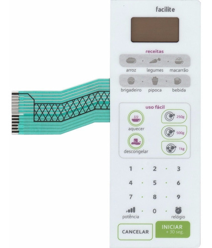 membrana teclado microondas consul cmw20ab cmw 20ab