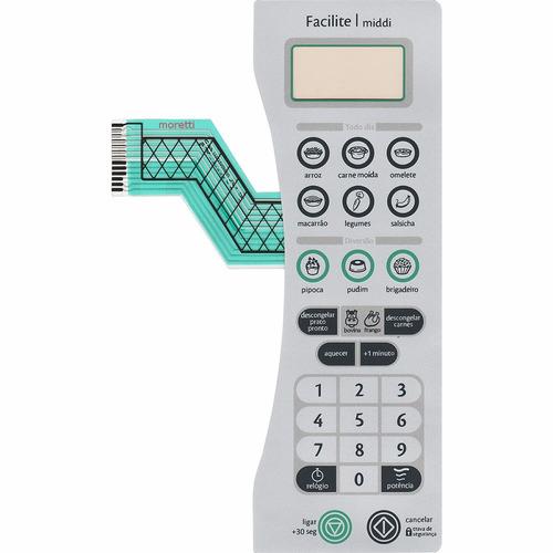 membrana teclado microondas consul cmy30 facilite middi