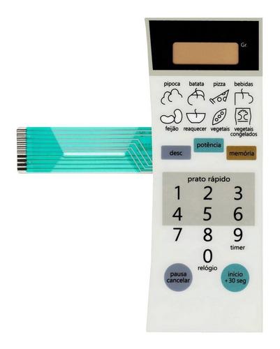 membrana teclado microondas dako modk018sd2a1br - branco