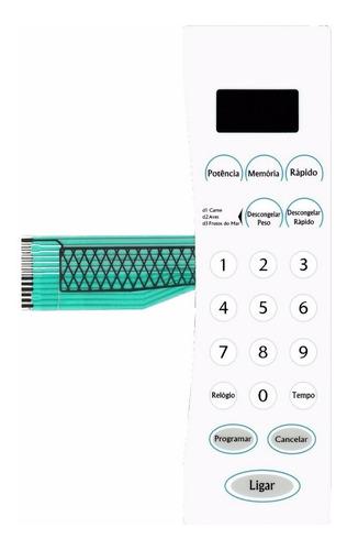 membrana teclado microondas durabrand p70b 20al-tl1