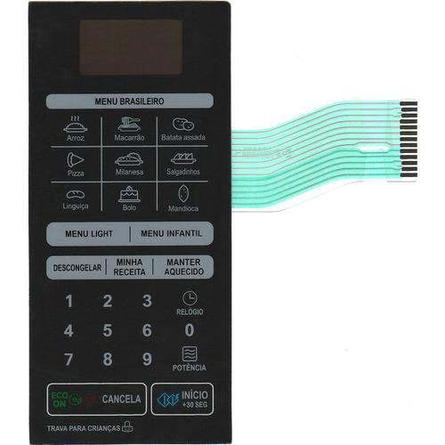 membrana teclado microondas lg ms3049l / la ms 3059l / la