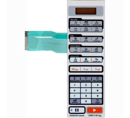 membrana teclado microondas midea liva mtas21 mtas22