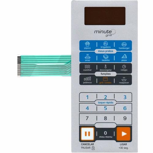 membrana teclado microondas midea mm39tb1 mm39tb2