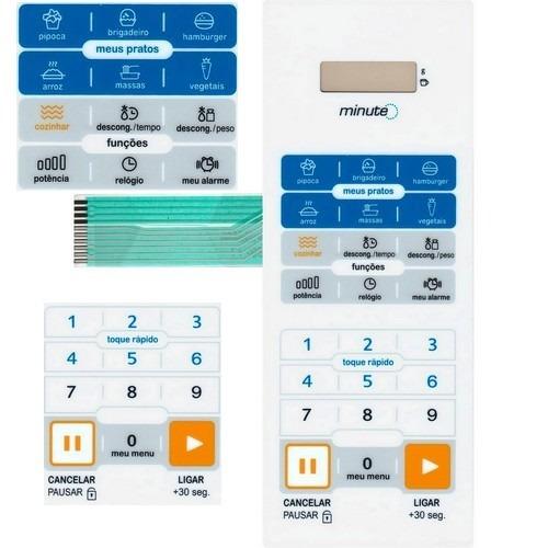 membrana teclado microondas midea mm40tb1 mm 40tb1