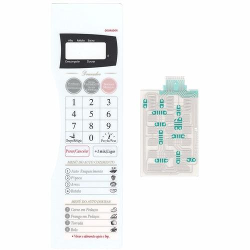 membrana teclado microondas panasonic nng43 nng 43