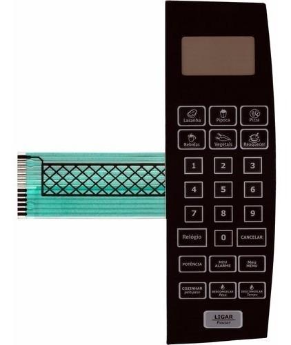 membrana teclado microondas philco pme22 pme 22 - espelhada