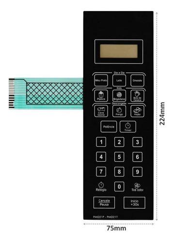 membrana teclado microondas philco pmo21-p pmo21-t pmo 21