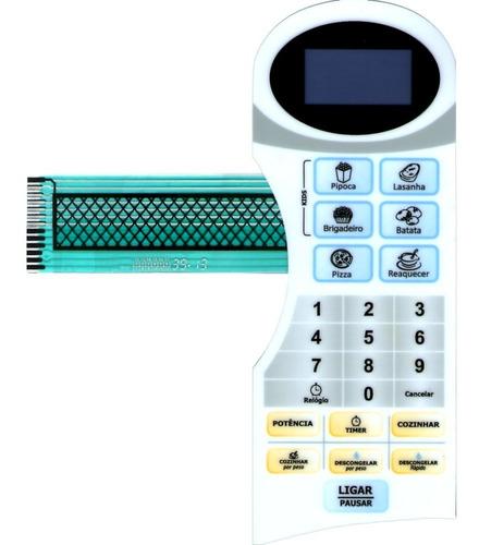 membrana teclado microondas philco pms22n2 pms 22n2