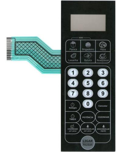 membrana teclado microondas philco pms38np pms 38np