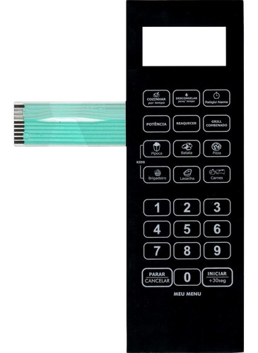 membrana teclado microondas philco pms42 pms 42