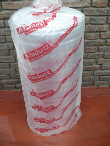 membranas aislantes tipo isolant 10mm aluminizada  oferta