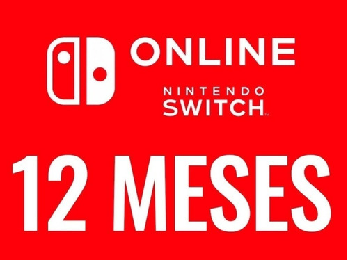 membresía nintendo switch online 12 meses (oferta especial)