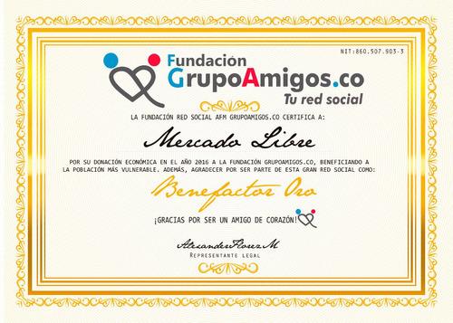 membresia oro carnet grupoamigos