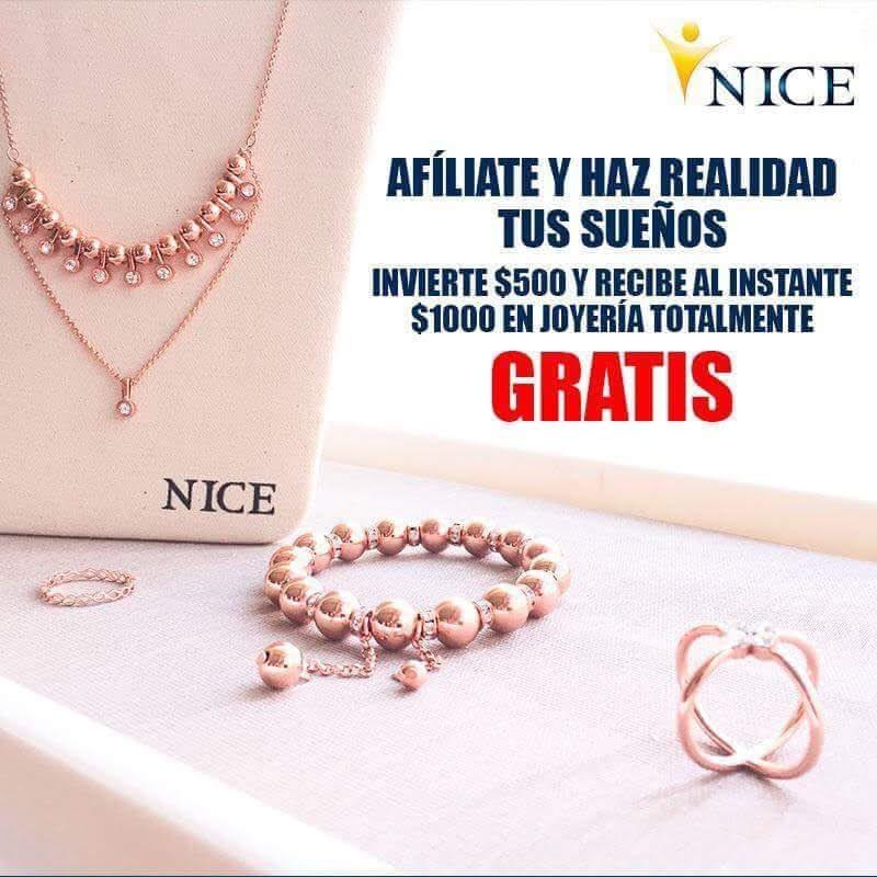 d1e60fabf0dc Membresia Para Vender O Comprar Joyeria Nice -   500.00 en Mercado Libre