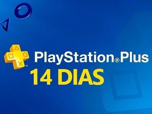 membresia playstation plus 14 dias - psn plus - ps3 ps4 psn