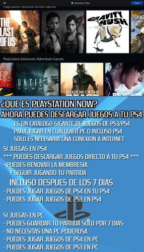 membresia playstation plus psn 14 dias online juegos diciemb